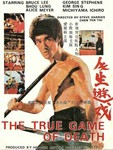 original movie poster (big image motif shows Bruce Lee in ENTER THE DRAGON)