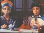 Left: Wong Mui as 'Angel Robber' Shen Liu-xiang<BR> 