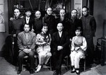 From left, back row: Wong Chung-Shun, Wei Pin-Ao, Chen Man-Fu, Lee Ying (2),<br> Ma Kei (1),Yeung Wang-Ming, Tien Feng - <p>Front row: Tien Shun, Mu Hong and Xu Bai-Yuan