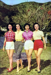from International Screen 18. Promo for Out Sister Hedy. L to R: So Fung, Yeh Feng, Li Cui, Mu Hong