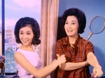 Jean Li Chih-An (L) as Zhu Manzhen, with Julie Yeh Feng (R) as Bai Lihong