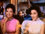 Maria Ye Kwong (L) as Lin Yanfei, with Julie Yeh Feng (R) as Bai Lihong