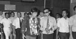 Bangkok airport, 12th July 1971: