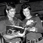 Modern times: a very good fake photo showing Bruce Lee and Unicorn Chan