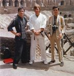 On the set of THE WAY OF THE DRAGON