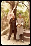 On the set of ODD COUPLE: Sammo Hung and Alexander Tse (right)