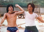 Behind the scenes with Jackie Chan and Corey Yuen Kwai