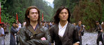 Michael Tse Tin-Wah as Frost (left) and Ekin Cheng Yee-Kin as Whispering Wind (right)