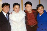 Four Heavenly Kings: Andy Lau, Jacky Cheung, Leon Lai, Aaron Kwok