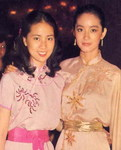 Lin Feng-Chiao and Brigitte Lin