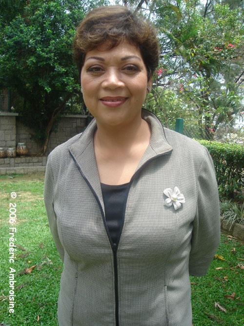 Maria Cordero (Hong Kong - April 2006)